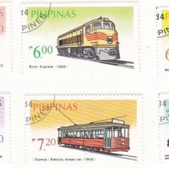 Транспорт. Железнодорожный транспорт.Полная серия