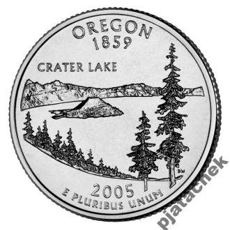 25 центов США Орегон 2005 г.