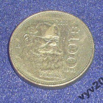 Мексика-1990 г.-100 песо