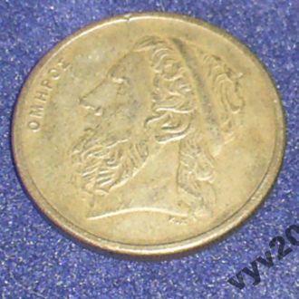 Греция-1986 г.-50 драхм (парусник)