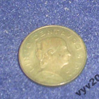 Мексика-1972 г.-5 сентаво