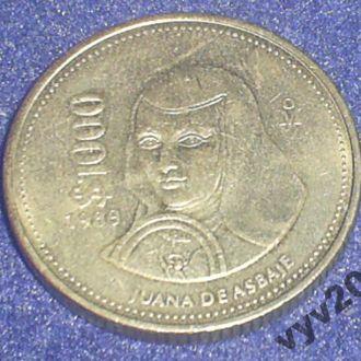 Мексика-1989 г.-1000 песо