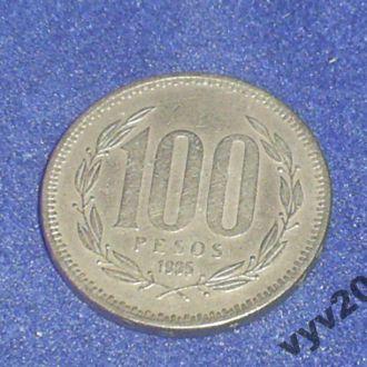 Чили-1995 г.-100 песо
