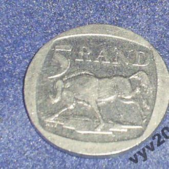 ЮАР-1994 г.-5 рендов (антилопа гну)
