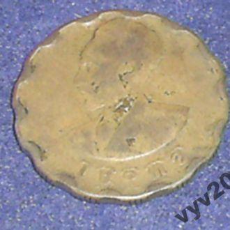 Эфиопия-1936 г.-25 центов
