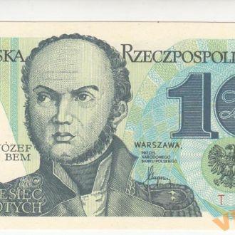 Польша 10 злотых 1982 год UNC