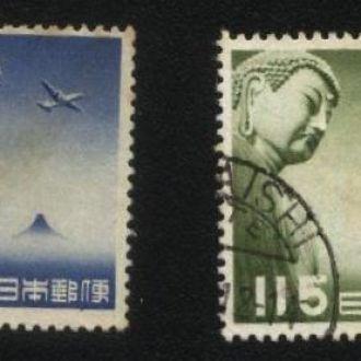 Япония 1953 г. № авиа почта серия гаш