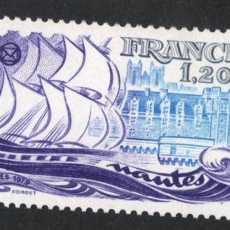 Франция - корабли 1979 - Michel Nr. 2150 **