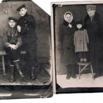 2 фото Алексея 1946 г. и нач. 50-х