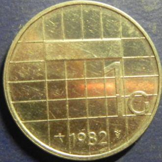 1 гульден 1982 Голландия