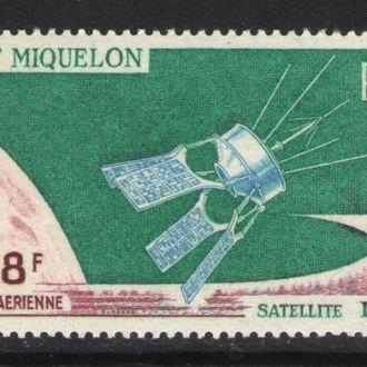 Сен Пьер Микелон - 1966 космос - Michel Nr. 415 **
