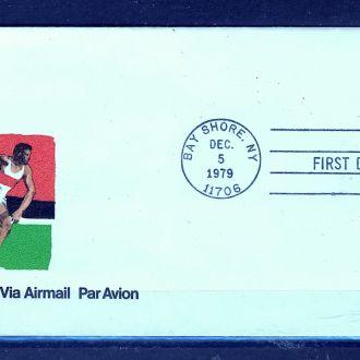ОИ 1980 Москва США конверт
