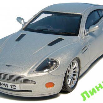 Суперкары Aston Martin V12 Vanquish Джеймс Бонд