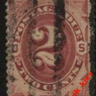 США 1879 г.№ 2 гаш