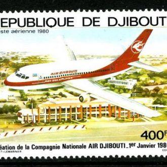 Джибути - самолет 1980 - Michel Nr. 270 **