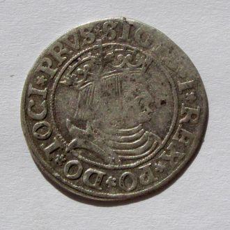 Грош 1531г, Сигизмунд I Старый , Пруссия, Торунь