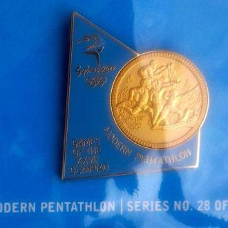 спорт, пятиборье, олимпиада Сидней 2000