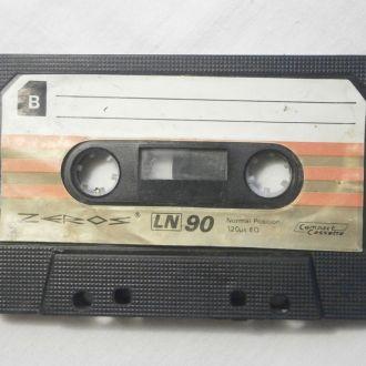 Магнитофонная кассета ZEROS LN С90  №1