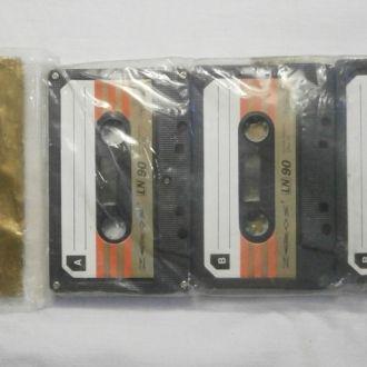 Магнитофонная кассета ZEROS LN С90  (3 шт)
