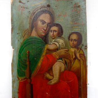Икона Святое Семейство. Большая редкость !!!