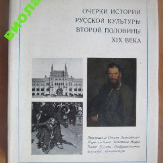 Очерки истории русской культуры второй полов ХIXв.