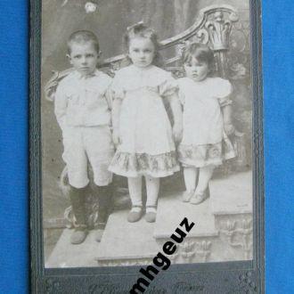 Фото. Дети. Я. Винштейн. Прилуки и Пирятин. 1900 г