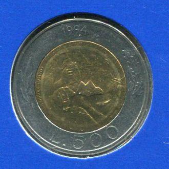 Сан-Марино 500 лир 1993 UNC из набора Ремесла