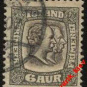 Исландия 1907г № 52 гаш