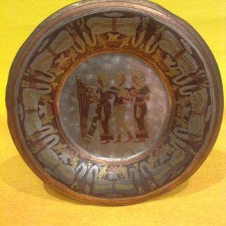 Тарелка сувенирная *Египтянки*. Египетская.