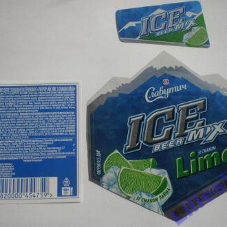 Этикетка   IСE Beer Mix Lime