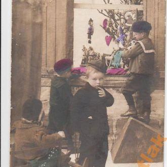 Открытка старинная подп. Коломыя - Стрый 1909 год