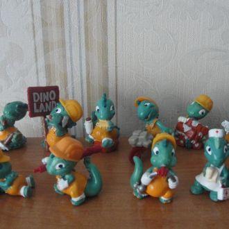 Динозавры ,динозаврики строители,1995 коллекция