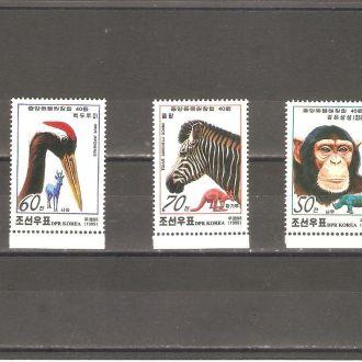 Фауна  С. Корея (КНДР)  1999г.  MNH  (см. опис.)