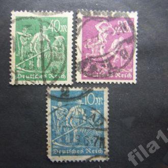 3 марки Германия 1921