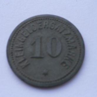 Германия нотгельд 10 пфеннигов  1917 г