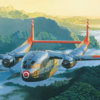 Roden - 321 - Fairchild C-119C Boxcar - 1:144