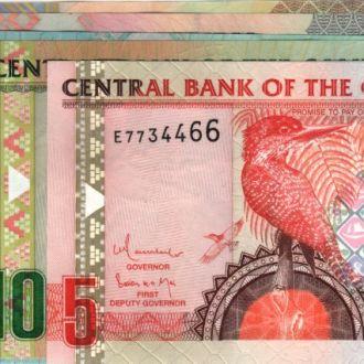 Гамбия набор 5-10-25-50-100 Даласи 2006 в UNC