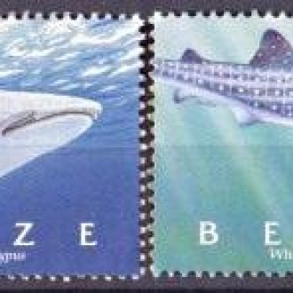 Belize / Белиз - Акулы 4м 2004 OLM-OPeN