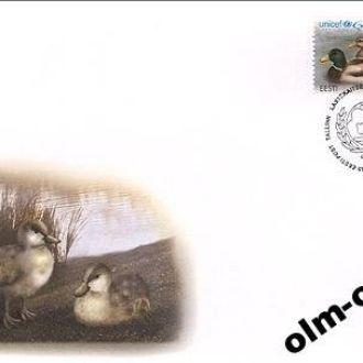 Estonia/ Эстония - КПД ЮНИСЕФ 60 лет 2006 OLM-OPeN