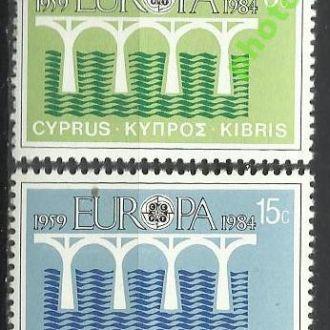Кипр 1984 Европа СЕПТ мост 2м.**