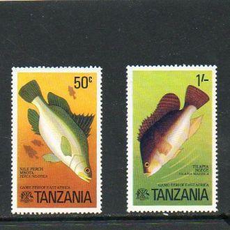 1977 ТАНЗАНИЯ - рыбы