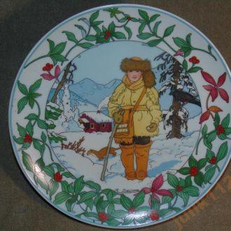 Тарелка коллекционная ! 100188