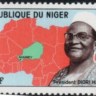 2 марки Нигер 1962 Республика  MNH