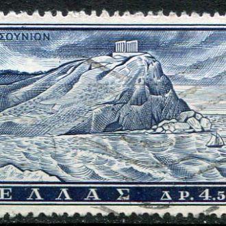 Греция Архитектура Развалины храма  гаш