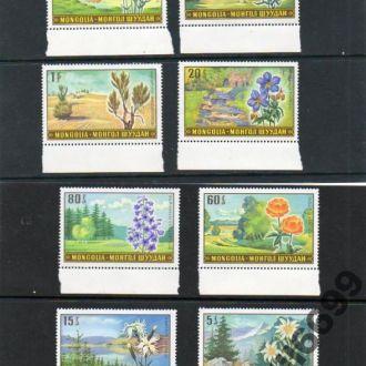 1969 МОНГОЛИЯ - цветы