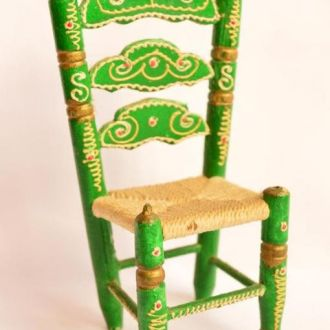 Очаровательный коллекционный,стул,стульчик! Винтаж