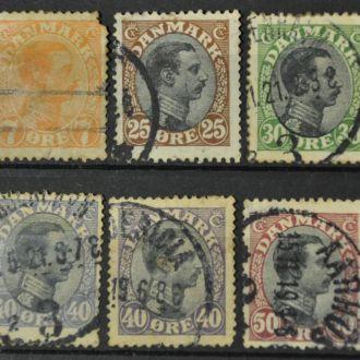 Дания. 1904-1918