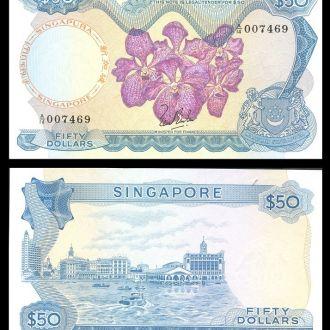 Singapore / Сингапур - 50 dollars 1967 - UNC - OLM
