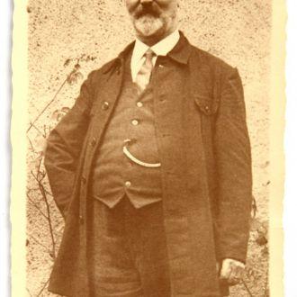 Старое фото Пожилой мужчина, 1900-е гг., Германия