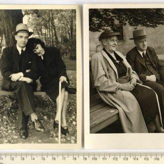 Старые фото 2 шт., начало XX в., Германия
